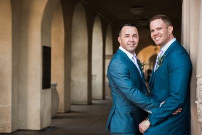 San Diego Balboa Park Gay Wedding Photography