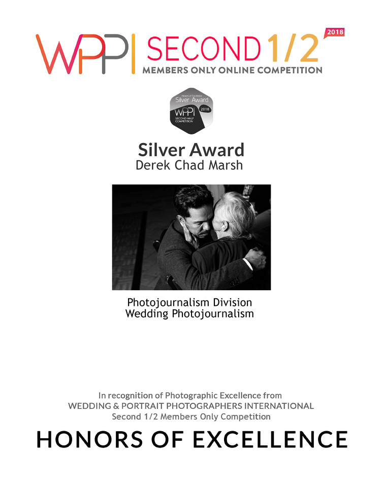 WPPI Second Half Competition - 2018